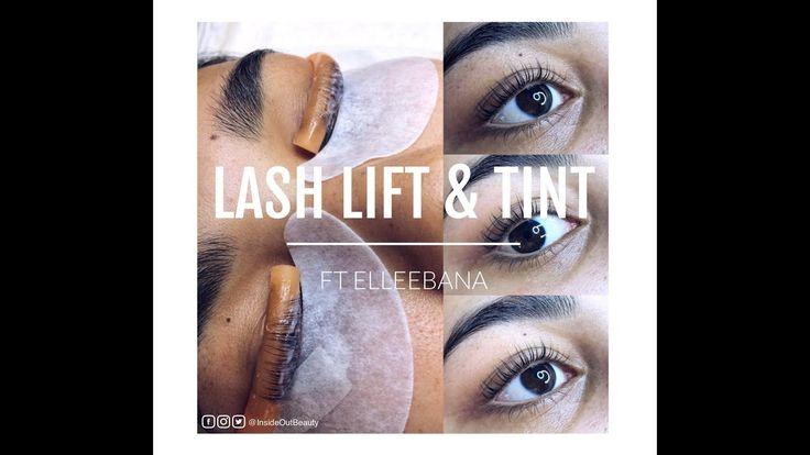 Lash Lift and Tint | ft Elleebana