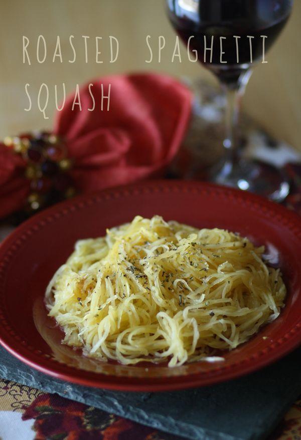 Roasted spaghetti squash | Savory | Pinterest