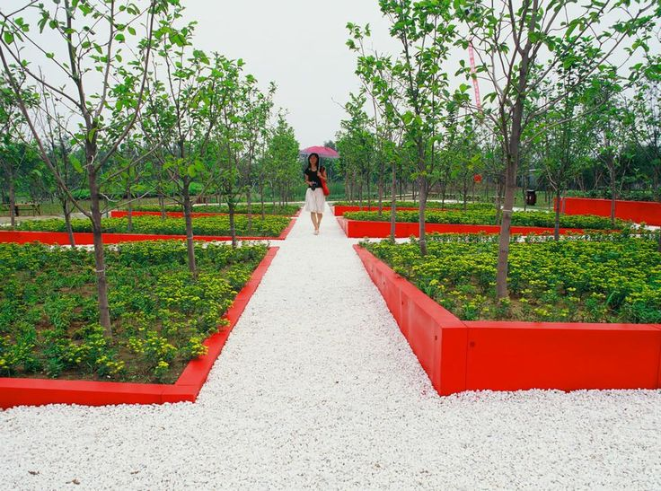 13 best environmental design kongjian yu images on for Red landscape architects