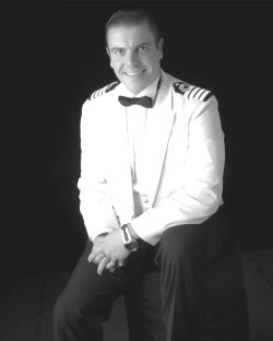 Koningsdam's Staff Captain Kevin Beirnaert hails from Gent, Belgium,  studied at the Hogere Zeevaart school in Antwerp, Belgium, and worked for freight company Ecuadorian Line and on dredging ships in Dubai, U.A.E. on the Palm Jumeirah Project before joining Holland America Line.