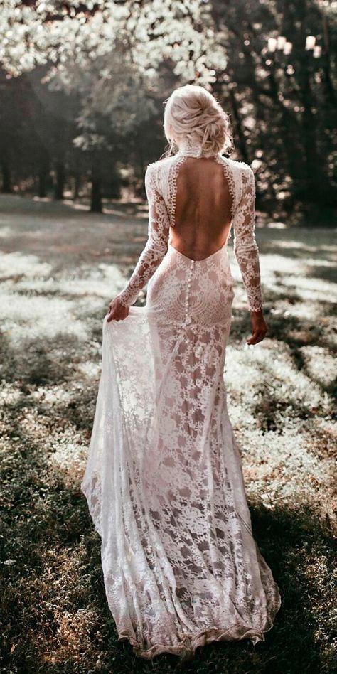 Luxe Bohemian Chic Wedding #weddingdresses
