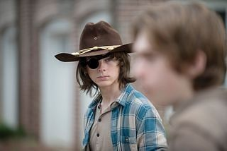 Cool fact about Negan: he sees hinself in Carl #twd #thewalkingdead #negan #carl #zombies #amc http://storetvshows.com/product-category/zombie-store/