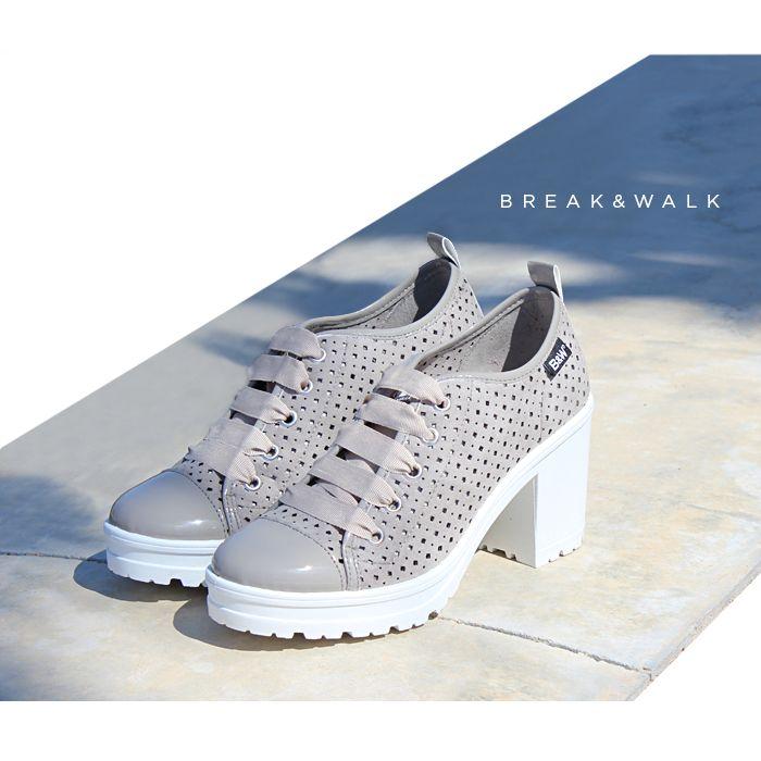 ÚLTIMAS TENDENCIAS CALZADO: Zapatillas de Tacón. Materiales de primera calidad. Consíguelas en la Tienda Online de Break&Walk.