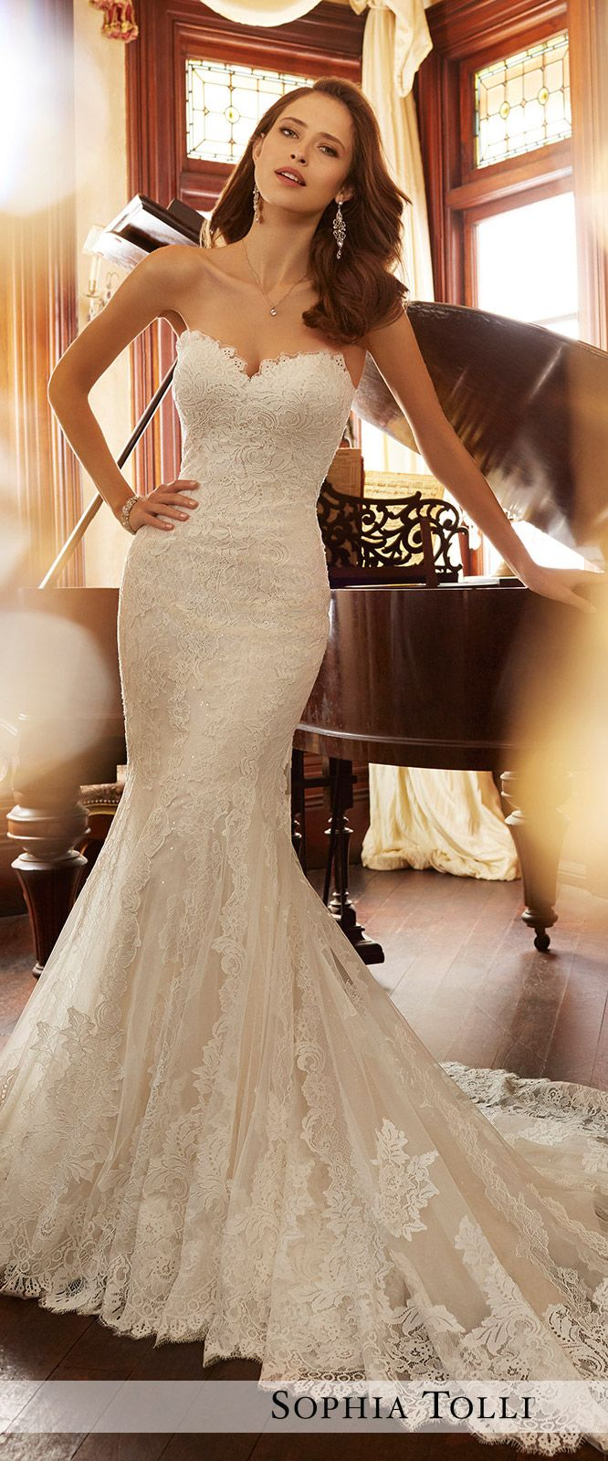 Wedding Dress by Sophia Tolli Spring 2017 Bridal Collection | Style No. » Y11728 Jacqui