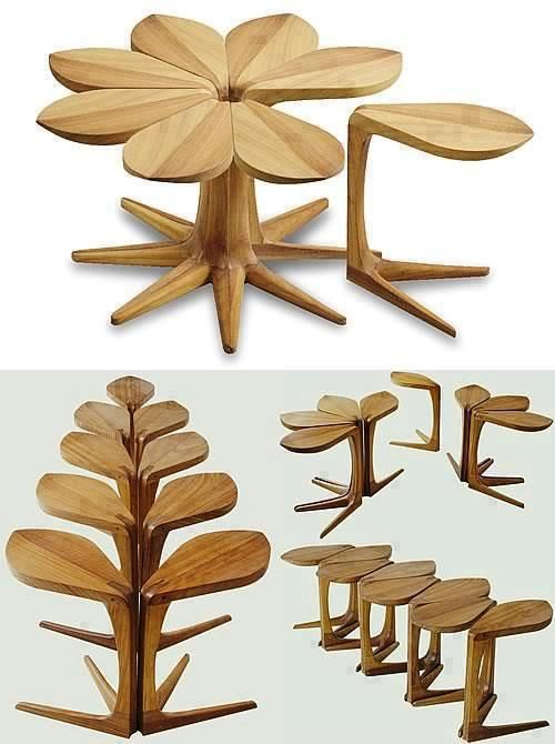 wood art - I want to build a set...great couch tables