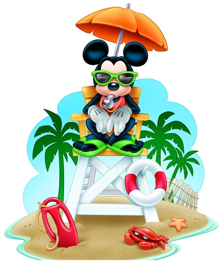 Disney Renders - Mickey lifeguard