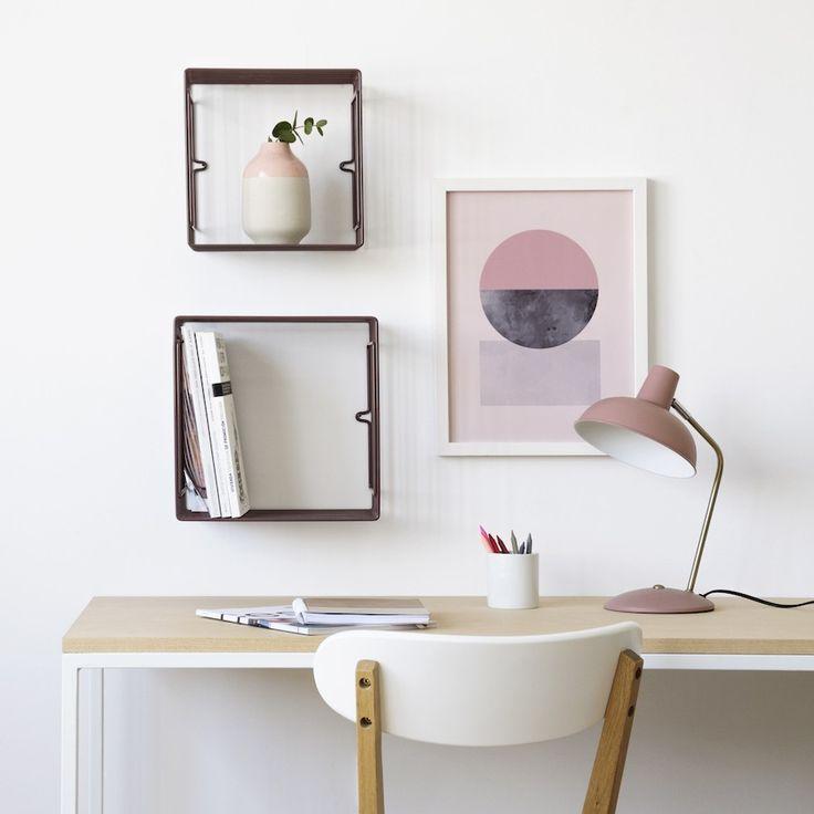 Con el set de estantes Wind vas a poner cada cosa en su sitio y además darás un toque muy bonito a tu escritorio. #inspiration #deco #interiors
