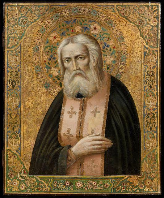 Παναγία Ιεροσολυμίτισσα: Άγιος Σεραφείμ του Σαρώφ - Οι Κοσμικοί και ο Γάμος...