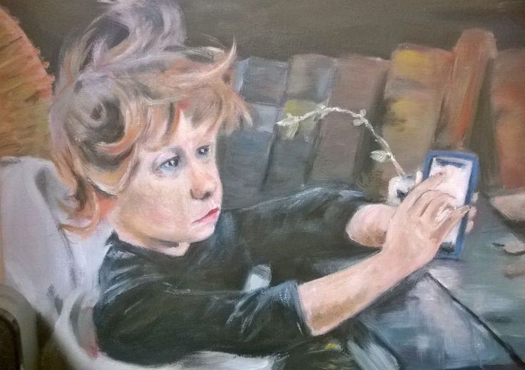 Status: 'convalescent' (after Helene Schjerfbeck)