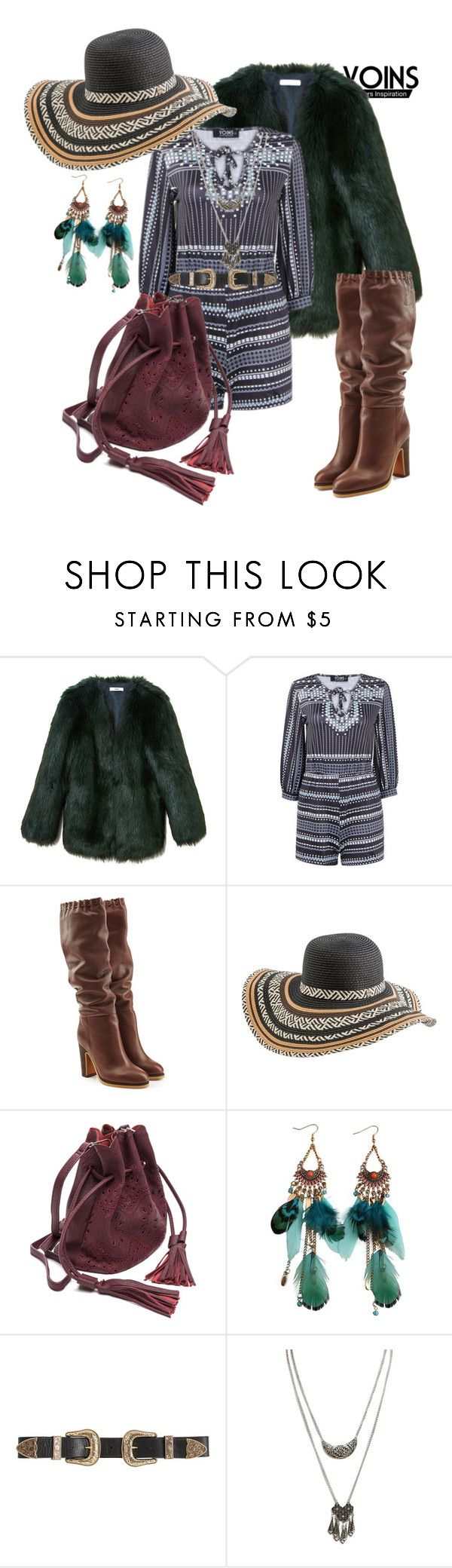 """Boho"" by velvy ❤ liked on Polyvore featuring THP, See by Chloé, Rip Curl, B-Low the Belt and Wet Seal"