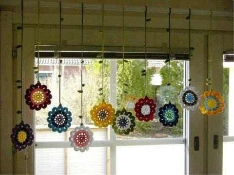 17 Best ideas about Cortinas Tejidas Al Crochet on Pinterest ...
