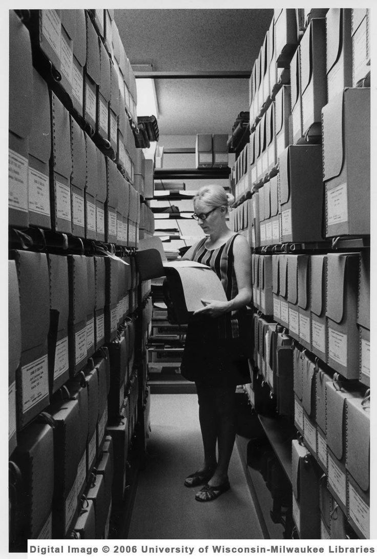 uwmarchives:  It's Archives Month and we're happy to answer any questions that you might have about the UWM Archives!  Curious about what goes on behind the scenes? Ask away!  Reblogging for International Archives Day!