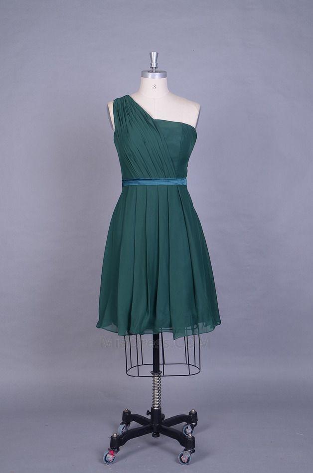 Simple Mousseline Polyester Sans Manches Naturel Fourreau Plissé Mince Robe Demoiselle d'Honneur