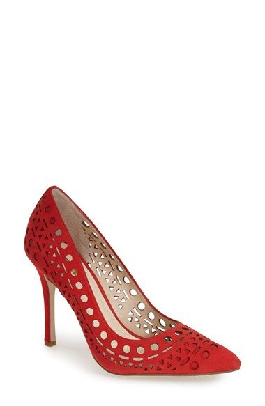 BCBGeneration 'Topaz' Cutout Pump (Women) available at #Nordstrom