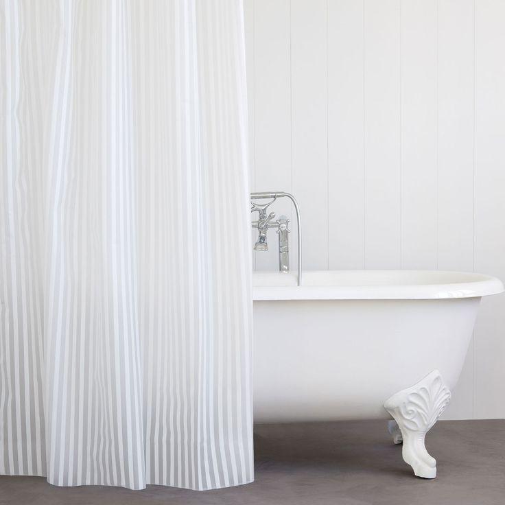 M s de 25 ideas incre bles sobre cortinas de ba o de rayas for Cortinas bano zara home