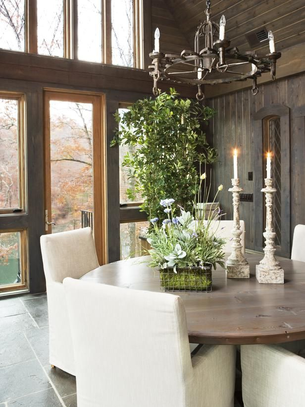 Old World Dining Rooms From Linda McDougald On HGTV