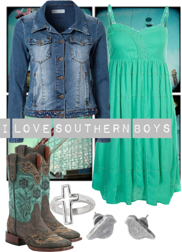 country chic... minus the county boys quote..