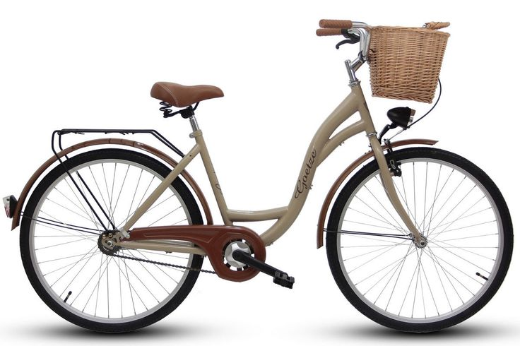 Goetze 28 Zoll ECO Damenfahrrad Citybike Retro Damenrad Cappucino  | eBay