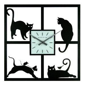 Okay.... so I like cats! lol Ashton Sutton Wall Clock, Four Cats