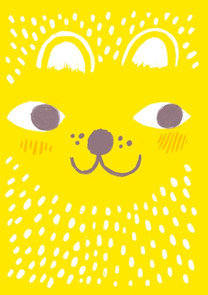 Emmi Jormalainen StudioPanama illustration yellow animal
