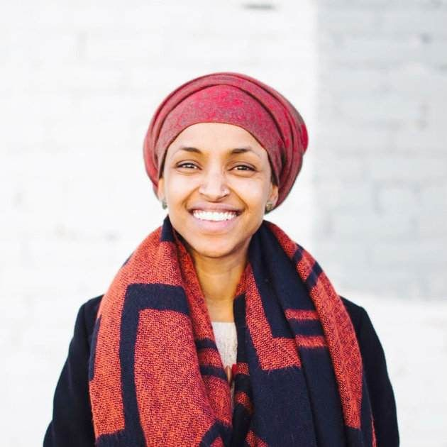 This is Ilhan Omar, a former refugee, a Somali-American activist and poised to be elected state legislature!