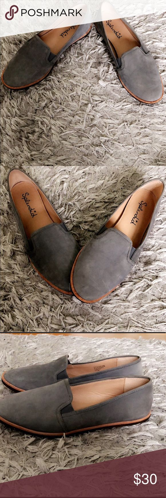 Splendid Beatrix Slip on Comfy splendid Beatrix Slip on.  Shoe is in new condition , only soles show signs of wear. Please ask any questions Splendid Shoes Flats & Loafers