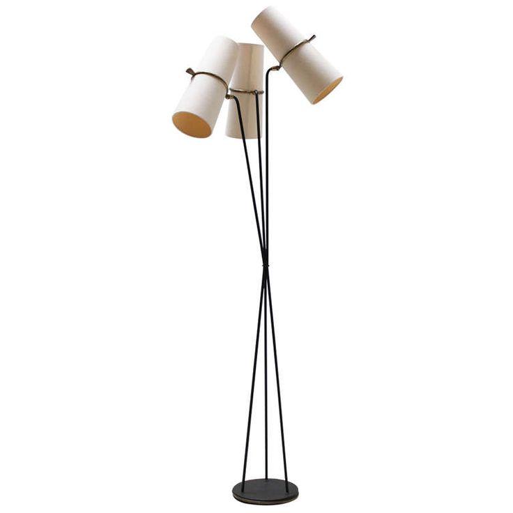 Lunel Floor Lamp  Modern Floor LampsMidcentury. 120 best Lighting images on Pinterest   Lamp light  Mid century