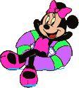 animated gifs glitter graphics Minnie Mouse | Κινούμενη Gifs του Μίνι Μάους