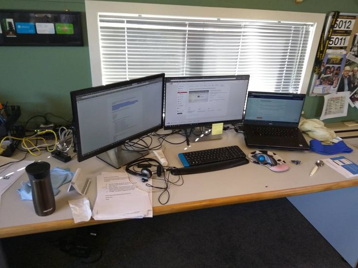 #myworkdesk #christchurch #newzealand #beebioskin #office #love #instapic #instalove #dell