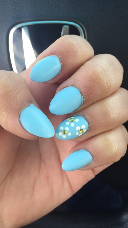 25+ Unique Matte Almond Nails Ideas On Pinterest