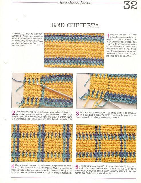 Materiales gráficos Gaby: Mil ideas en ganchillo con patrones