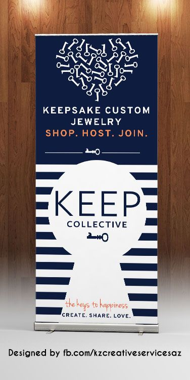 KEEP COLLECTIVE - RETRACTABLE BANNER from KZ Creative Services