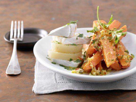 Rezept: Ingwer-Chili-Möhren