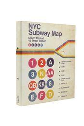 a4 ring binder, NYC SUBWAY