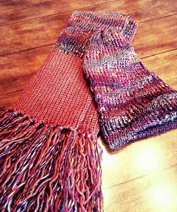 Check out this item in my Etsy shop https://www.etsy.com/listing/257022694/rustic-scarf-and-hat-set-in-gorgeous