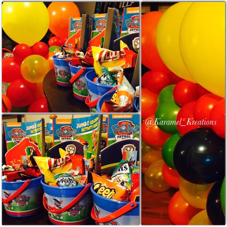 Best paw patrol centerpieces ideas on pinterest