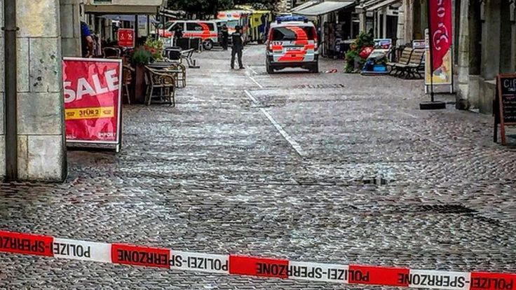 Switzerland: Five injured in Schaffhausen attack, say police https://tmbw.news/switzerland-five-injured-in-schaffhausen-attack-say-police  Five people have been injured, two seriously, in an attack by an unidentified man in the Swiss town of Schaffhausen, police say.Central parts of the town on the German border have been sealed off, as police are searching for the attacker.Police and ambulances are on the scene and rescue helicopters are circling overhead, police spokeswoman Cindy Beer is…