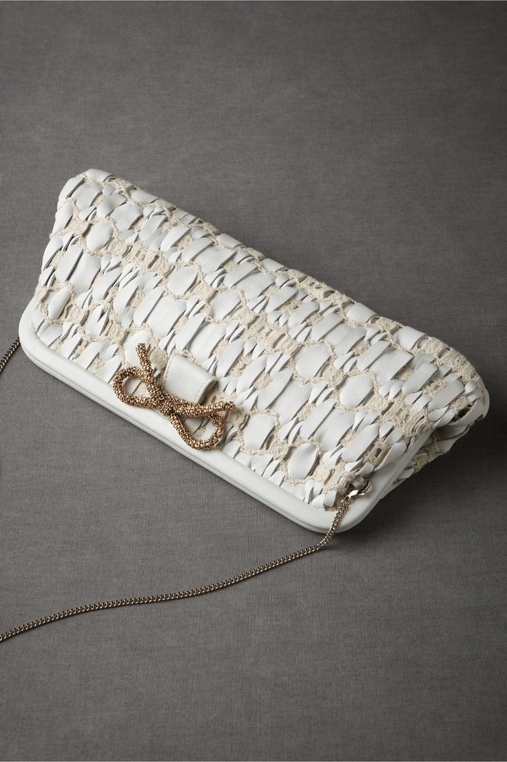 Woven Pathways Clutch in SHOP Sale at BHLDN: Woven Pathways, Pathways Clutches, Accessories Closet, White Clutches, Shasta Daisies, Bridal Clutches, Accent Woven, Bhldn Woven, Bridal Accessories