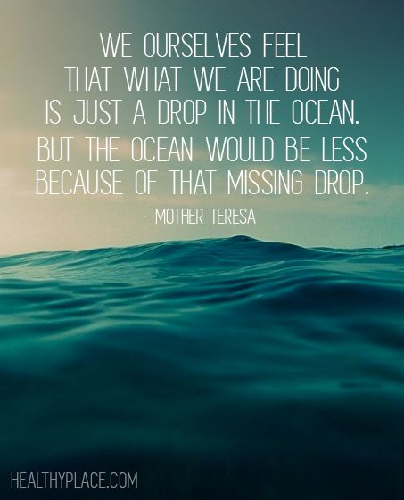 Quotes About Ocean: Positive Quote: We Ourselves Feel That What We Are Doing