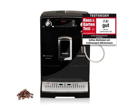 Nivona CafeRomatica NICR 646 Willkommen in der neuen kompakten Einstiegs-Klasse!
