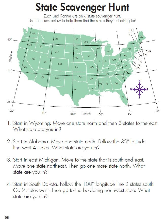 On the Map USA A Workbook of US Cities and States CONTENTS
