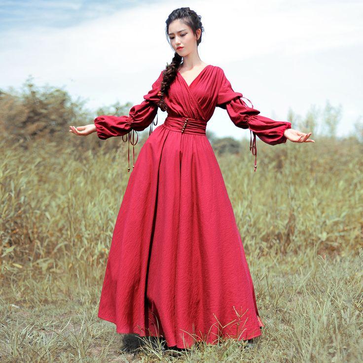 Boshow винтажное красное платье   Boshow оригинальное винтажное красное платье в стиле Джейн Остин. Длинная юбка, V-образный вырез, эластичный пояс, длинные рукава-фонарики. Состав: 78% вискоза, 22% нейлон. Сезон: осень 2016. ☮️Цена: 4800 руб. Доставка от 2 недель. Смотрите размеры и остальные фотографии на сайте: bohomagic.ru. http://bohomagic.ru/shop/for-her/boshow-vintazhnoe-krasnoe-plate/ #бохо #boho #bohochic #бохошик #бохоодежда #бохостиль #бохостайл #стиль  #девушка #бохомода #boshow…