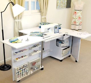 Eclipse Sewing Table Very Cool Back Leaf Folds Down
