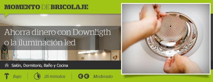 Más 💡¡Y se hizo la luz!💡Descubre con nuestros 🛠Momentos de bricolaje👌a sustituir un downlight #tanfácilquenotelocrees