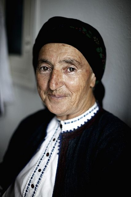 Woman from Karpathos, Greece