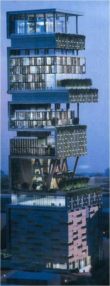 World's first billion dollar house in Mumbai, India
