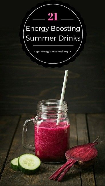 If you are lacking in energy, you should think about drinking smoothies, they are a great way of boosting your health and energy levels. Start by trying some of these 21 mouth-watering smoothies and get your energy back.