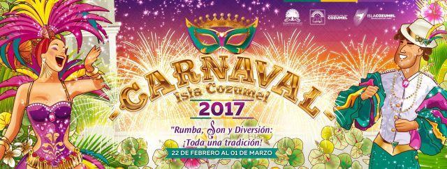 Carnaval Isla Cozumel 2017 Rumba, Son, y Diversión ¡Toda una tradición! #DeFeriaenFeria