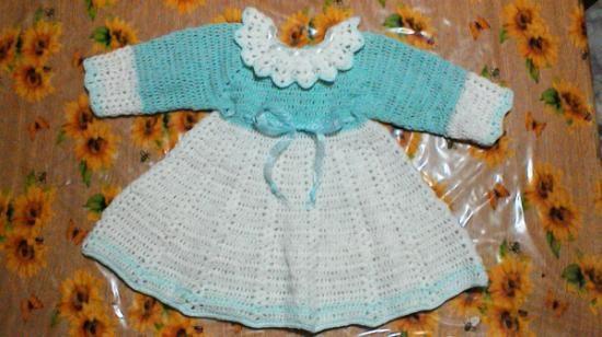 vestitino lana neonata vestitino lana,nastro organza,nastrino di raso uncinetto