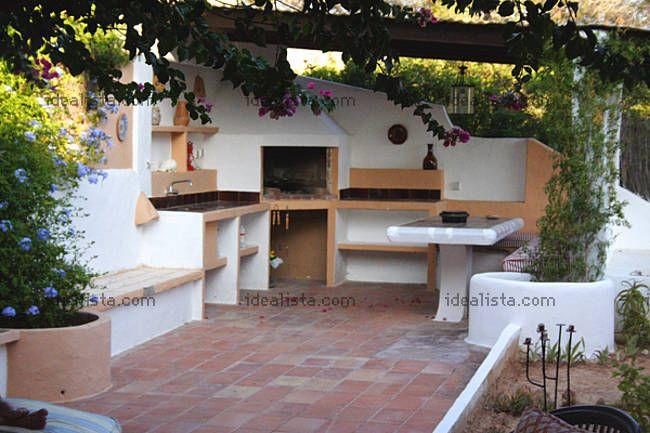 Barbacoa de obra barbacoas rusticas pinterest - Barbacoa para terraza ...